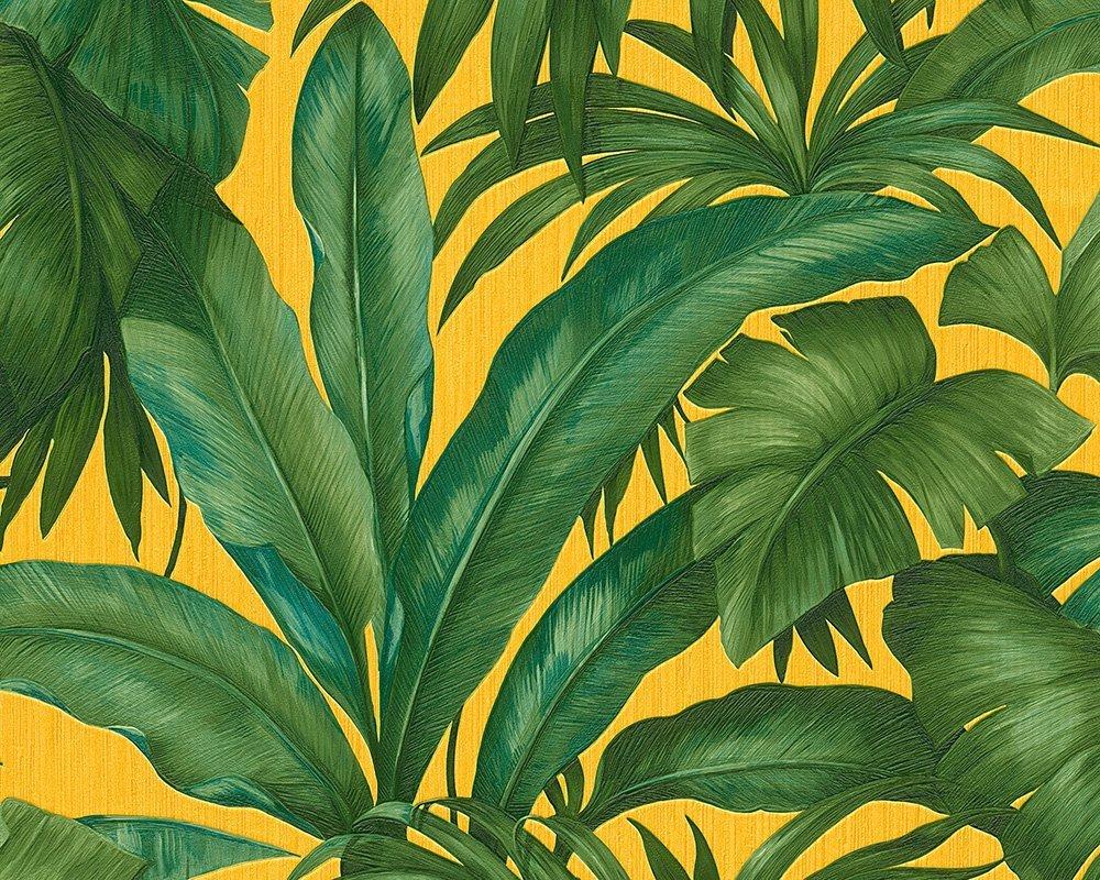 Листья обои на стену
